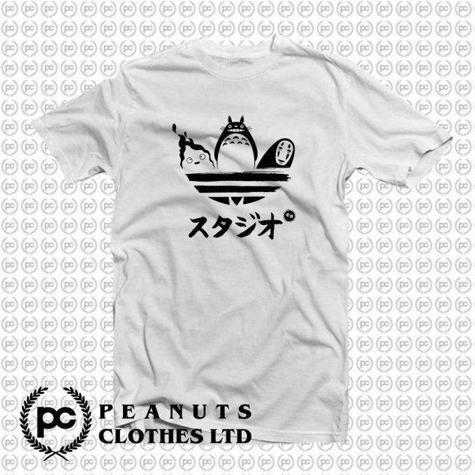 My Neighbor Totoro Adidas Parody T-Shirt