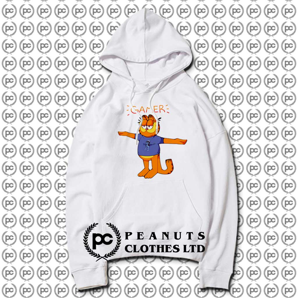 Get Garfield Crazy Frog T Pose Hoodie Custom Design
