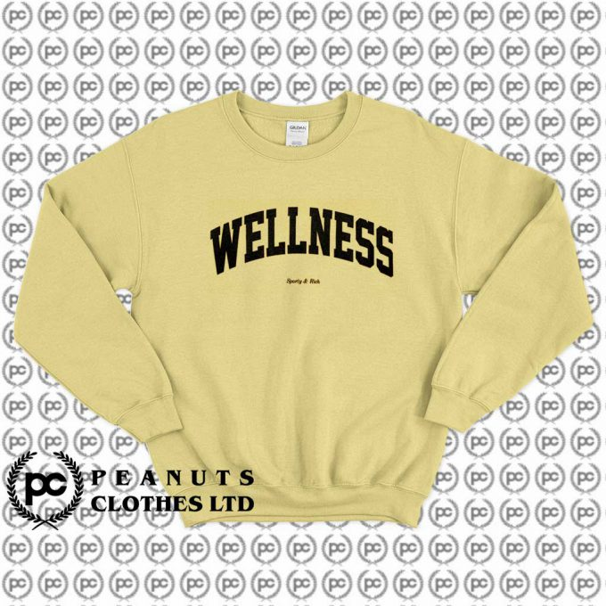 Wellness Sporty & Rich Retro Sweatshirt