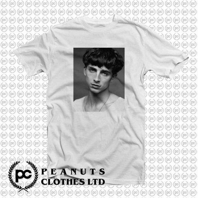 Get Order Timothee Chalamet Monochrome Vintage T Shirt On Sale