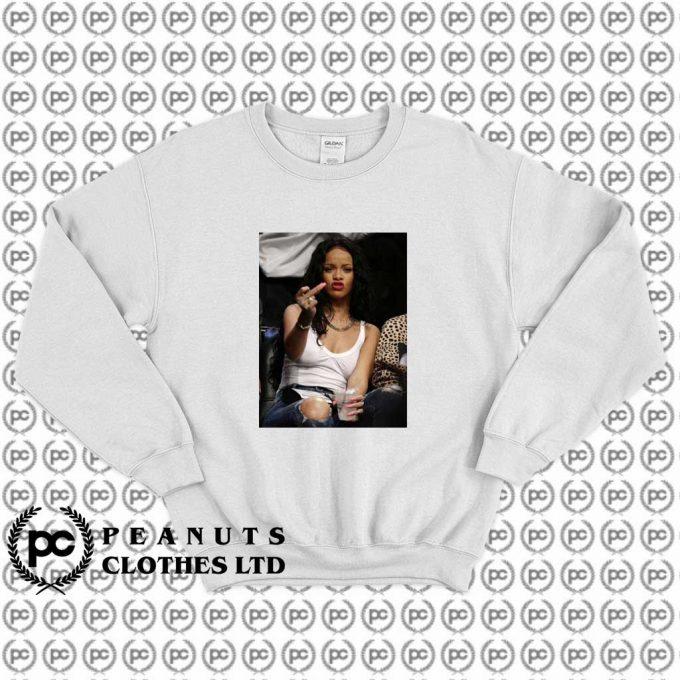 Cool Rihanna Fuck Middle Finger Sweatshirt